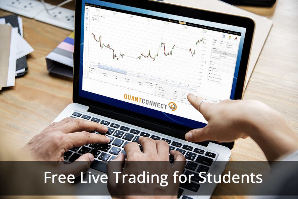 Live Trading on QuantConnect Now Free for Students | QuantConnect Blog